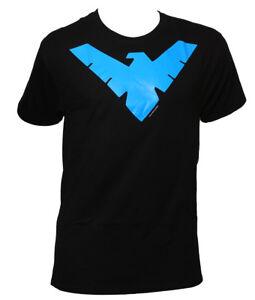 Nightwing-Logo-Mens-Black-T-Shirt