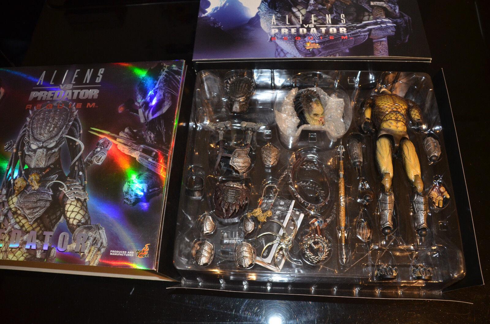 Hot Toys Aliens vs Predator Alien Vs. 16 Predator Requiem