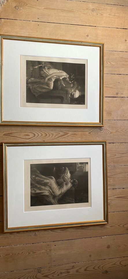Smukke blytryk , Gamle tyske billeder
