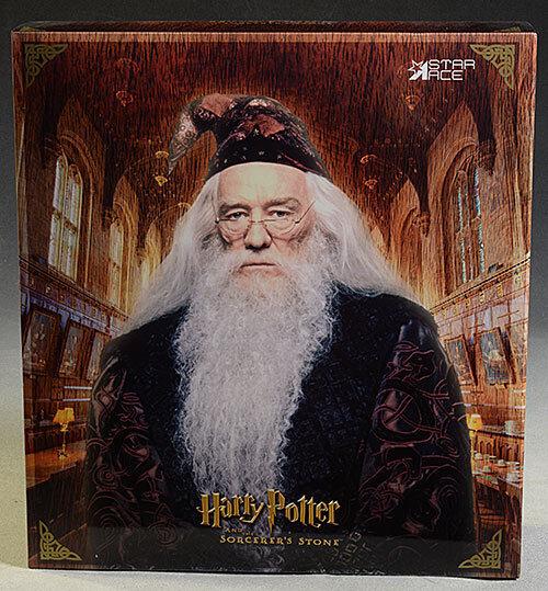 HARRY krukmakare Albuss Dumbledore Silent Deluxe 1  6 Figur stjärna Ace sideshow SA0025