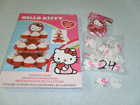 Hello Kitty® Treat Stand Kit With Party Rings & Baking Cups (rfeb16co)