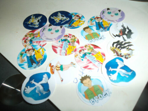 Pre Cut One Inch Pokemon Images Free Shipping In United States