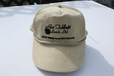Ball Cap Hat - Ron Tebbutt Seeds - Cereal Forage Crop Farm Saskatchewan (H947)