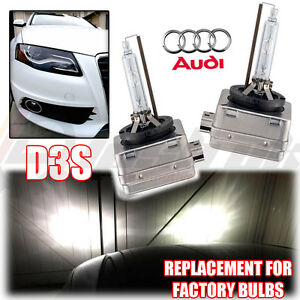 2x audi a4 b8 sline d3s factory xenon hid headlight. Black Bedroom Furniture Sets. Home Design Ideas