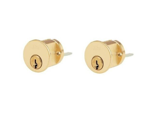 Home & Garden Door Locks & Lock Mechanisms Rim Cylinder Lock Brass ...