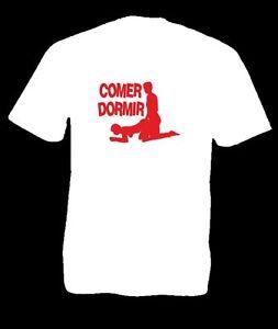 ComerDormirSexoPersonalizable De Sexo Graciosa Camiseta Mujer Detalles Hombre TJl3K1Fc