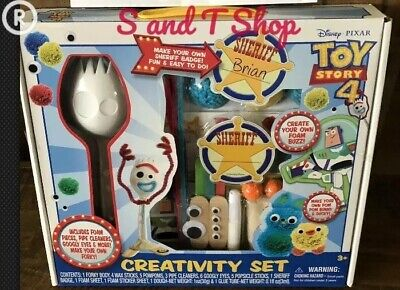 Toy Story 4 Creativity Set New Disney Make Forky Ducky Bunny