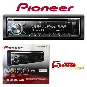 Autoradio-PIONEER-4-x-50w-DEH-X6800DAB-Sintolettore-CD-RDS-Radio-Digitale-DAB