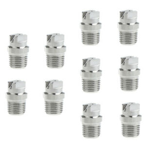 10pcs-1-4-034-High-Pressure-Washer-Spray-Nozzle-Stainless-Steel-Antirust