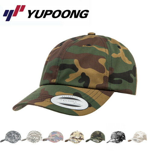 Yupoong Low Profile Camouflage Dad Cap Baseball Cap Kappe Mütze
