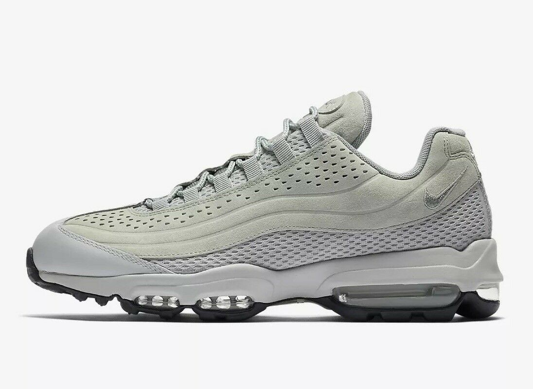 super popular 0bae8 85dd8 ... Nike Air Max 95 Ultra Premium BR AO2438-001 Light Pumice Pumice Pumice  cm NEUF ...