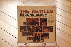 The-Beatles-039-Second-Album-Vinyl-LP-33t-Japan-S-EX-Record-VG-Beatles-AP-80012