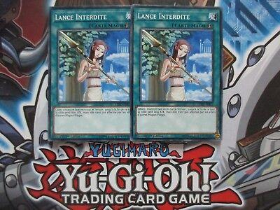 Lot De 3 Lance Interdite   YS17-FR026 Commune 1st Yu-Gi-OH