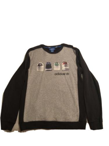 mens adidas sweatshirt medium