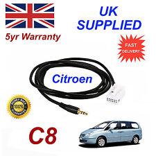 Citroen C8 AUX 3.5mm Input Audio cable High Quality Sound MY 05-