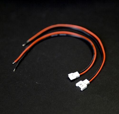 15 Paar Walkera Molex 2Pin 2.0 Stecker Buchse Male Female 15cm Kabel Lipo Akku