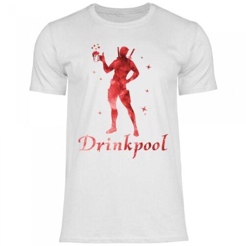 Royal Shirt a77 T-Shirt Hommes drinkpool Drôle Marrant Pour Fête JGA Super-héros