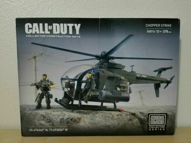 Mega Bloks Call Of Duty 06816 Chopper Strike Dcl24 For Sale Online Ebay