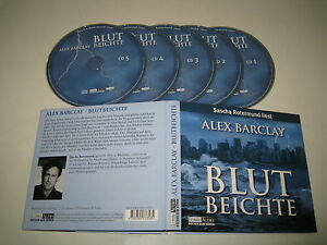 Alex-Barclay-Blood-Reports-Lubbe-978-3-7857-3358-5-5xCD-Album
