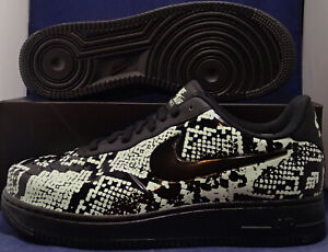 Details about Nike Air Force 1 Foamposite Pro Cup Glow Snakeskin Mint Black New Sz 10.5