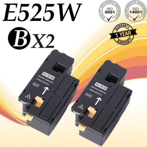 DPV4T E525w 3-Pack Black Toner Cartridge Compatible for Dell 593-BBJX
