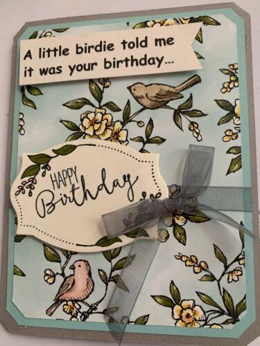 Humor Little Birdie Birthday Card