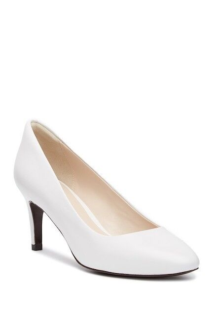 Cole Haan Hellen Grand Pump II Womens shoes Optic White 9.5 Leather New In Box