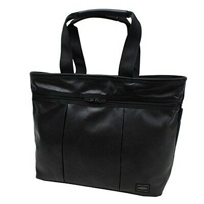 NEW YOSHIDA PORTER ALOOF SHOULDER BAG 023-01081 Black tracking From Japan S