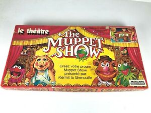 BOARD-GAME-PARKER-MECCANO-THE-MUPPET-SHOW-THE-THEATRE-80-039