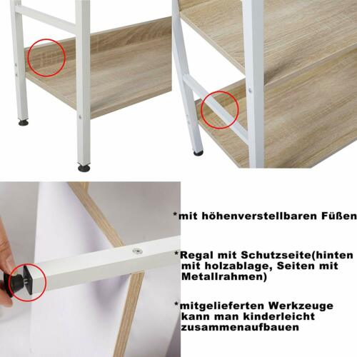 Standregal Hochregal Schuhregal Bücherregal Küchenregal Badregal Haushaltsregal