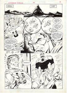 Extreme-Justice-10-pg-3-by-Al-Rio-Ken-Branch-DC-Comics-1995-Original-Art