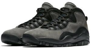 quality design 8f45b c903f Image is loading Nike-Air-Jordan-Retro-10-X-Dark-Shadow-