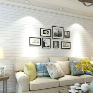 Details About Diy 3d Xpe Brick Waterproof Wallpaper Wall Sticker Self Adhesive Panel Sticker