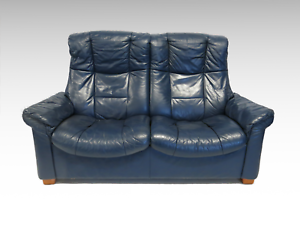 Ekornes-Stressless-blue-2-seater-sofa-1945