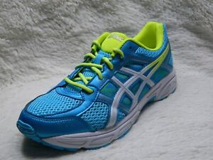 Portal suelo Ventilación  ASICS Gel-Contend 4 Youth Size 7 Running Trainers Blue Yellow FREE S&H |  eBay