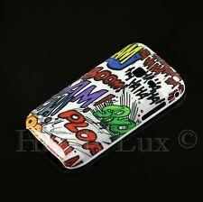 Samsung Galaxy Y DUOS S 6102 Hard Case Schutz Hülle Cover Etui HAHA COMIC PLOP