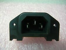 Schurter C13 IEC Appliance Outlet Screw On Panel Mount With 4.8mm Terminals