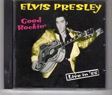 (HG651) Elvis Presley, Good Rockin' - Live in '55 - 1997 CD