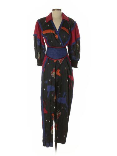 Collection Jeanne Marc Women Blue Jumpsuit 4 Petit