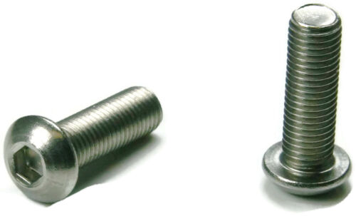 Button Head Socket Cap Screw Stainless Steel Screws UNF 10-32 x 1//2 Qty 250