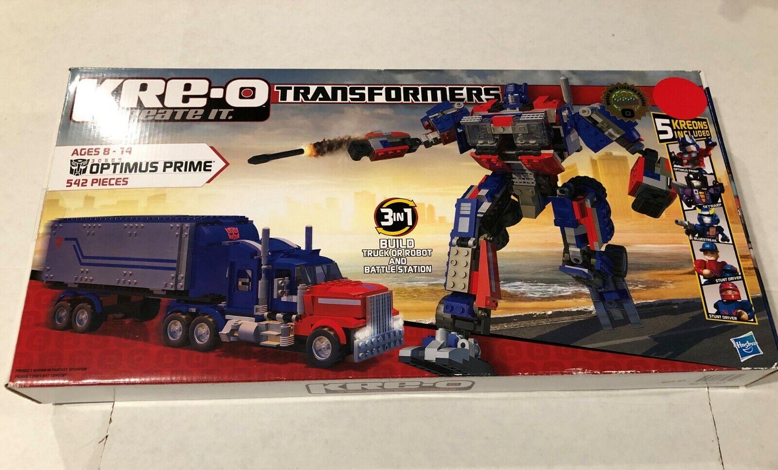 Hasbro Kre-o Transformers Optimus Prime Figura De Acción