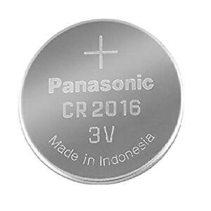 Panasonic-3V-CR2016-2016-3V-Lithium-Battery-Pilas-de-boton-for-watch-computer-PC