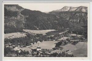 53935-Foto-AK-Dorf-Kreuth-Totale-mit-Blauberge