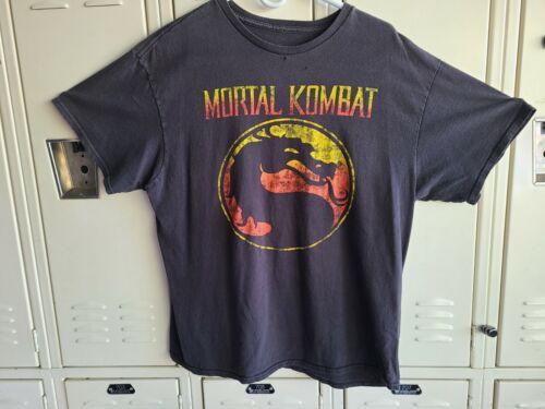 Vintage Mortal Kombat Shirt Size XL 90s - Read Des