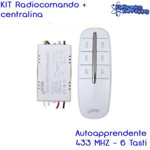 Accensione Luci Con Radiocomando.Details About Kit Centralina Telecomando Controller Accensione Luci Con Telecomando 4 Vie 433