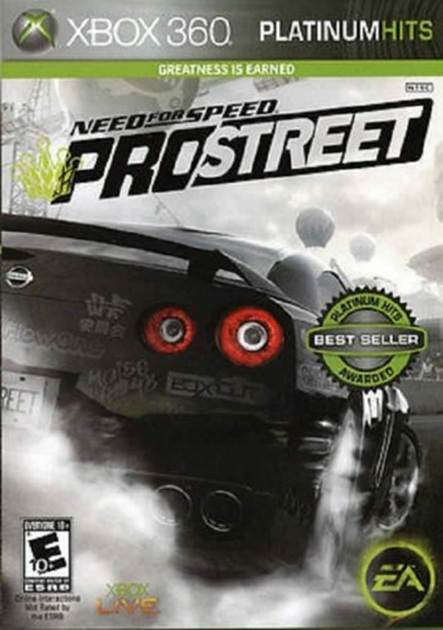 Need for Speed: ProStreet (Microsoft Xbox 360, 2007)