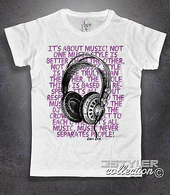 T-shirt uomo CARL COX cuffie DJ music house techno headphone Amazink