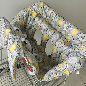 2 in 1 Shopping Trolley High Chair Cover Clean Comfortable Baby Toddler Child