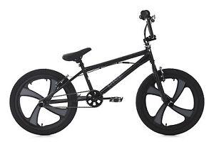 20-034-BMX-Bike-Freestyle-Fahrrad-Rad-Rise-schwarz-grau-KS-Cycling-646B