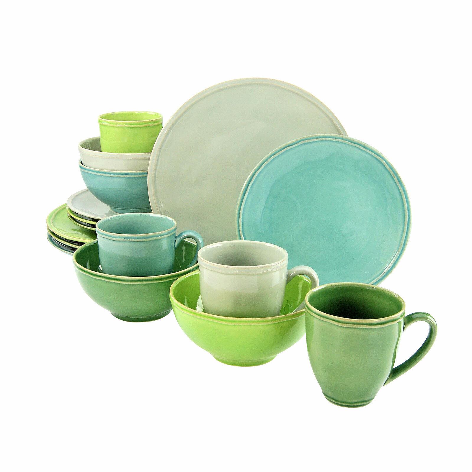 Creatable 17549 Natura vaisselle Combiné service 16tlg Tablette service vaisselle